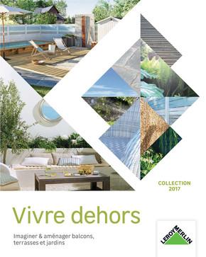 Leroy merlin terrasse et jardin poteau pour gardecorps for Jardin gris new orleans